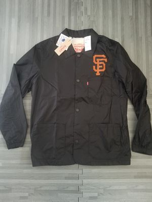 Levi's MLB San Francisco Giants Windbreaker Club Jacket Sz M for Sale in San Diego, CA
