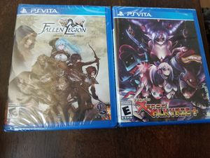 Project Xenon Valkyrie+ and Fallen Legion PS Vita PlayStation Limited Run Games for Sale in Valley Stream, NY
