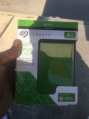 Xbox One Game Drive 4TB for Sale in Dallas, TX