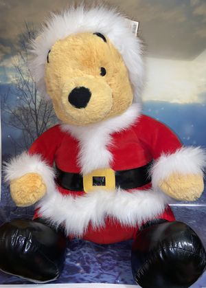 "Rare Special Edition Jumbo! Disney Store CHRISTMAS SANTA WINNIE POOH Plush 25"" plush for Sale in Lakewood, CA"