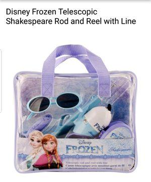 Frozen retractable fishing rod pack for Sale in Marietta, GA