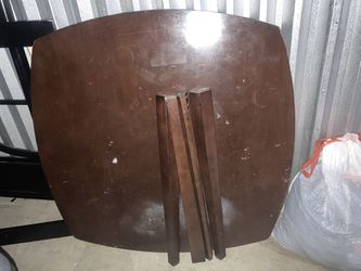 Brown Wooden Table For Four (not Assembled) for Sale in Lynwood,  CA