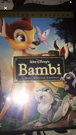 Bambi DVD for Sale in Knoxville, TN