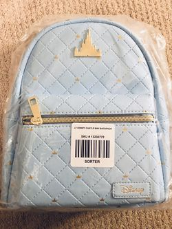 Disney Castle Loungefly Backpack for Sale in Orange,  CA