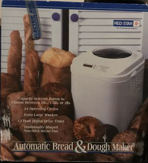 Bread and dough maker. for Sale in Houston, TX