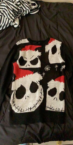 The nightmare before Christmas jack skellington sweater for Sale in Lynwood, CA