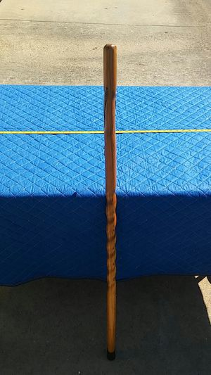 "Light Brown wood walking cane 48"" for Sale in Plano, TX"