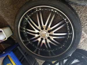 Menzari 20 inch rims and tires for Sale in Kent, WA
