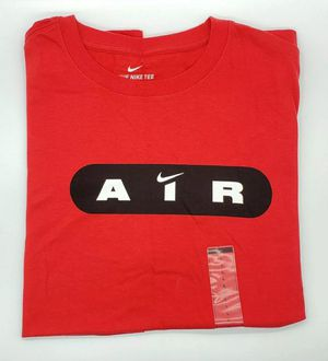 Red nike air shirt mens size large for Sale in Montebello, CA