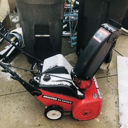 SNAPPER SX5200E The ELECTRIC START Snow Blower Hilliard for Sale in Hilliard,  OH
