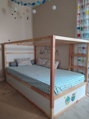 IKEA twin reversible bunk bed for Sale in Campbell, CA