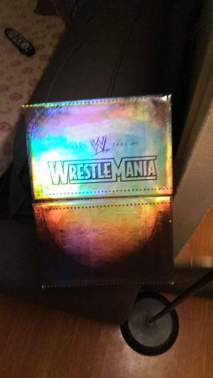 Wwe wrestlemania for Sale in Hoboken, NJ