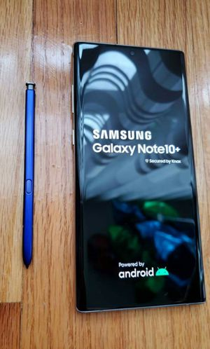 SAMSUNG Galaxy Note 10 Plus, Factory Unlocked, Excellent condition As like new. for Sale in Springfield, VA