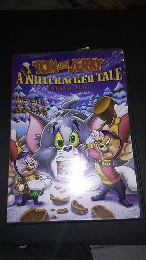 Tom and Jerry a nutcracker tale origin movie DVD for Sale in Sprouses Corner, VA