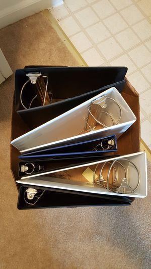 6 Binders for Sale in Reston, VA