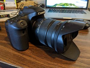 Canon EOS 80D w/2 lenses, new bag for Sale in Salt Lake City, UT