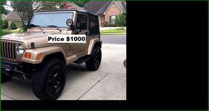 ֆ1OOO Jeep Wrangler for Sale in Antioch, CA