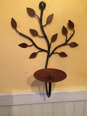 Wall mounted candle holder for Sale in Los Angeles, CA