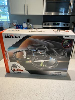 4 ch ufo drone with camera and 2 batteries must go OBO for Sale in Charleston, SC