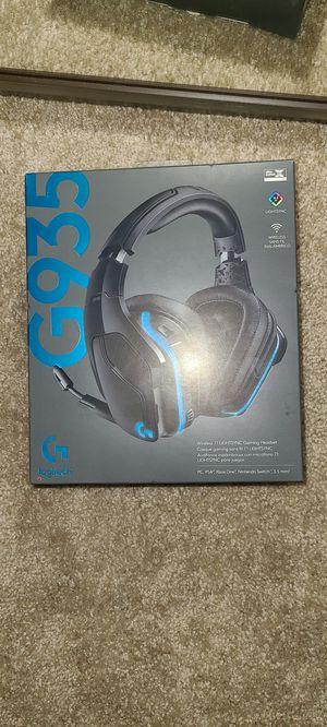 Logitech G935 wireless 7.1 Surround Sound Headset for Sale in Fairfield, CA