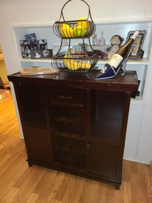 Buffet wine table/rack for Sale in Rialto, CA