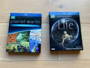 Planet Earth and Life - special edition blu-ray collections - perfect condition! for Sale in Bothell, WA