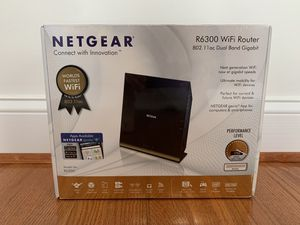 NETGEAR R6300 WiFi Router for Sale in Arlington, VA