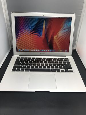 "Apple MacBook Air 13"" 128ssd 4gb ram i5 2.13ghz with OEM charger early 2011. Mac OS is 10.13 Microsoft office for Sale in Dallas, TX"