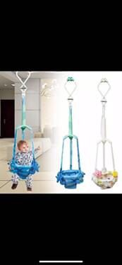 Hanging baby bouncer (blue) for Sale in Los Angeles, CA
