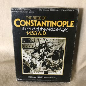 Siege of Constantinople Game by STI 1978 for Sale in Anchorage, AK