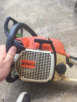 Stihl 028 chainsaw runs great no bar or chain for Sale in Raleigh, NC