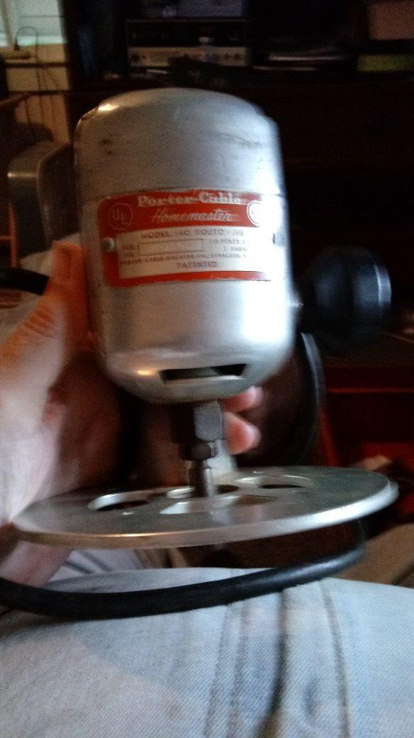 Vintage Porter-Cable router
