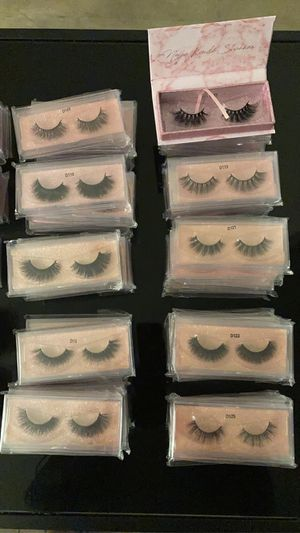 100% Mink Lashes (Strips) for Sale in Kansas City, MO