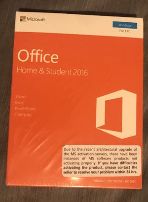 Microsoft Office Home & Student 2016 - NEW Never Opened for Sale in Murfreesboro, TN