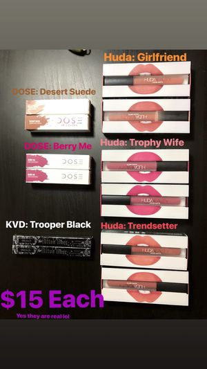 Huda Beauty, Kat Von D, Dose of colour for Sale in Ontario, CA