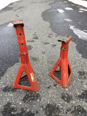 Pair of car truck SUV jackstands for Sale in Concord, MA