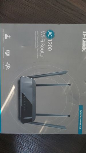 D-Link AC 1200 Wifi Router for Sale in Dallas, TX