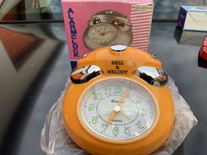 Battery OPERATED BELL MELODY ALARM CLOCK BRAND NEW for Sale in Lakewood, CA