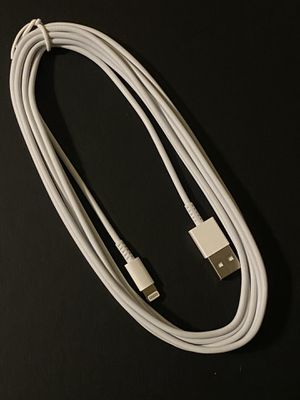 iPhone Cable 10 feet XS MAX XR X 8 8 Plus 7 7 Plus 6s 6s Plus 6 6 Plus for Sale in Scottsdale, AZ