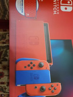 Nintendo Switch V2 Mario Red And Blue Edition for Sale in San Diego,  CA