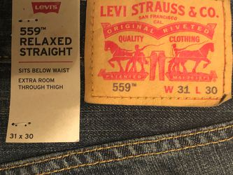 Levi's 559 Relaxed Fit Jeans 31x30 for Sale in Columbia,  SC