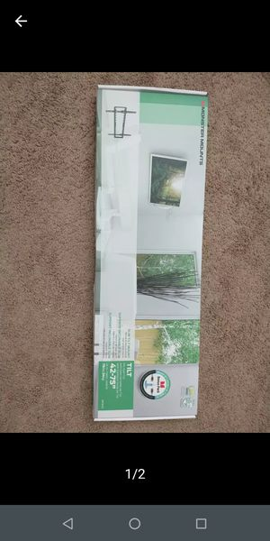 Monster brand tilting TV wall mount holds 4270 in includes free HDMI cable free Screen cleaning kit and comprehensive Hardware for Sale in Plano, TX