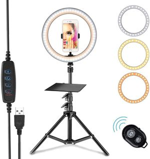"""Selfie Ring Light 10.2"""" for Sale in Brooklyn, NY"""