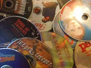 DVD's no cases 2$b entertainded 20 DVD's total for Sale in Salt Lake City, UT