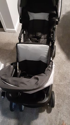 Double stroller and baby crib/toddler bed for Sale in Clarkston, GA