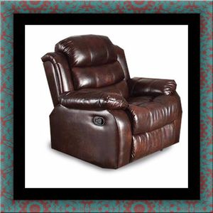 Burgundy recliner chair for Sale in University Park, MD