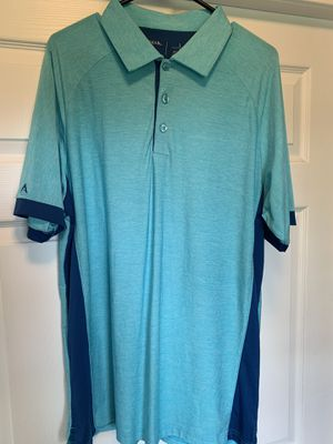 Antigua golf shirt size L for Sale in Cadwell, GA