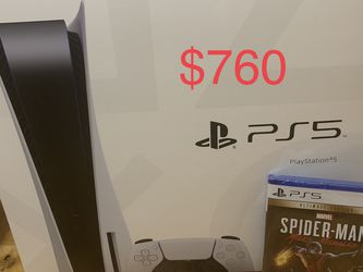 Brand New Ps5 + Game- Price Is Firm- Meetup At Police Department for Sale in Washington,  DC
