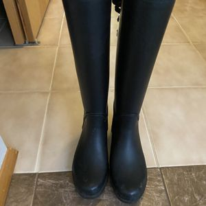 Women's Size 6 Coach Rain Boots for Sale in Puyallup, WA