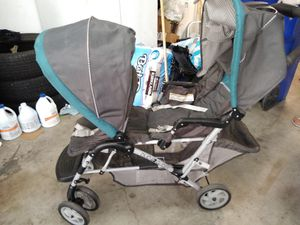 Double stroller duo glider for Sale in Fontana, CA